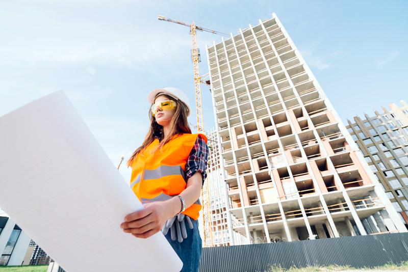 Las mujeres en la construcción