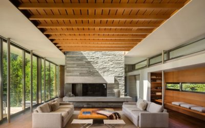 Características de los techos de madera