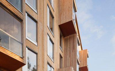 ¿Edificios de madera contra cambio climático?