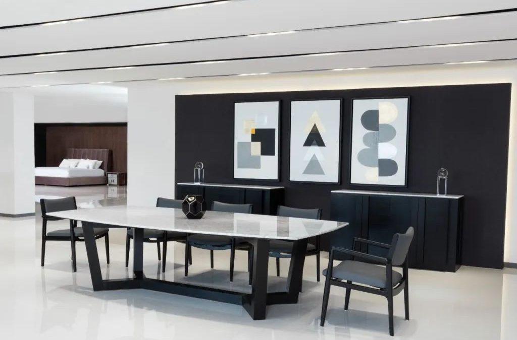 Es común ver que las tendencias en el mundo de la alta costura permean el diseño interior y viceversa. Fotos: Cortesía Casa de las Lomas.